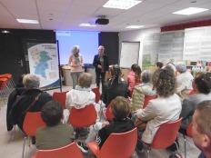 Visite du centre de tri de Pont-Audemer - mercredi 25 octobre 2017